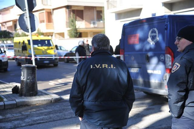 Assalto furgone PosteItaliane